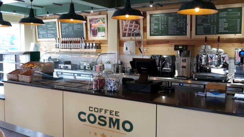 Cafe Counter Top Supplier